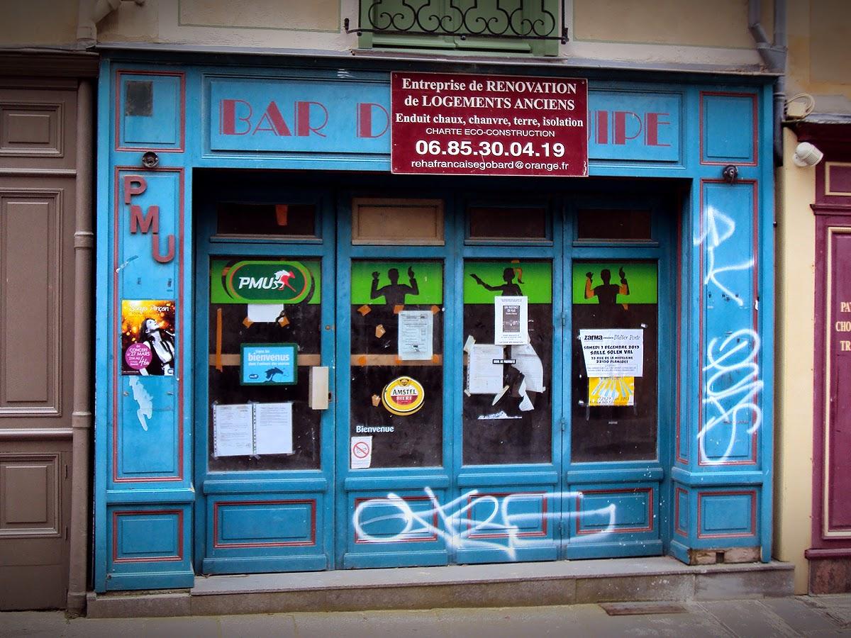 BAR DE L'EQUIPE - 20, rue de la Baudrairie - 35000 Rennes