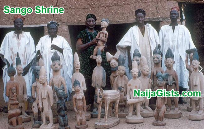 sango shrine ede