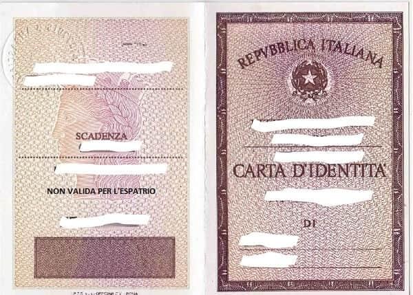 carta d identita tramitar pasaporte italiano o dni italiano sin prenota online