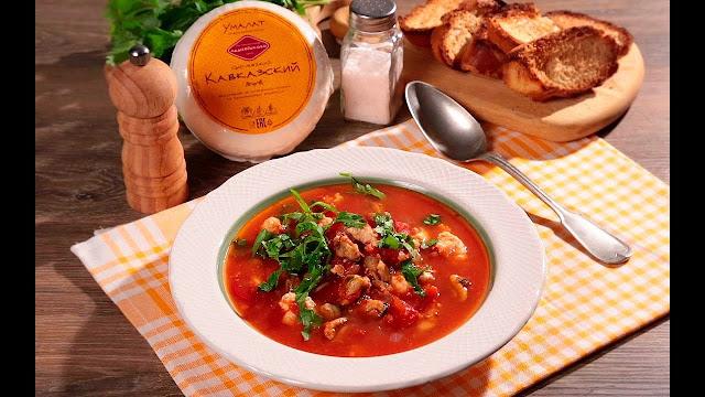 томатный суп картинка