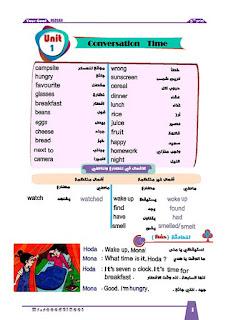 مذكرة لغة انجليزية تايم فور انجلش للصف الخامس الابتدائي الترم الاول 2020