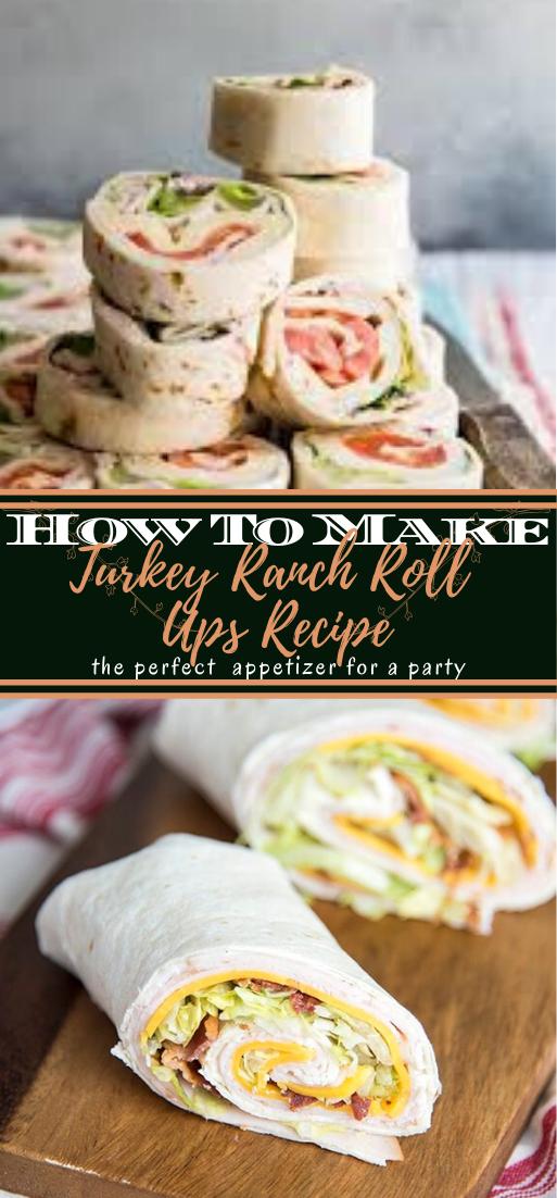 Turkey Ranch Roll Ups Recipe #healthyfood #dietketo #breakfast #food