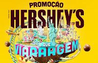 Promoção Hershey's Que Viaaagem promoqueviagem.com.br