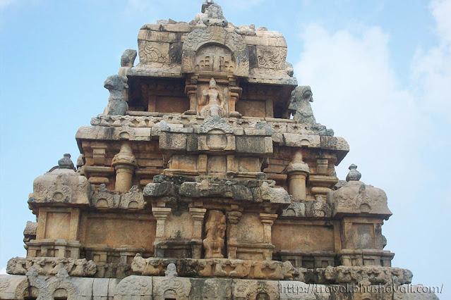 Kodumbalur Moovar Koil Sculptures