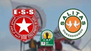 مشاهدة مباراة النجم الساحلي وساليتاس بث مباشر اليوم في كأس الكونفدرالية