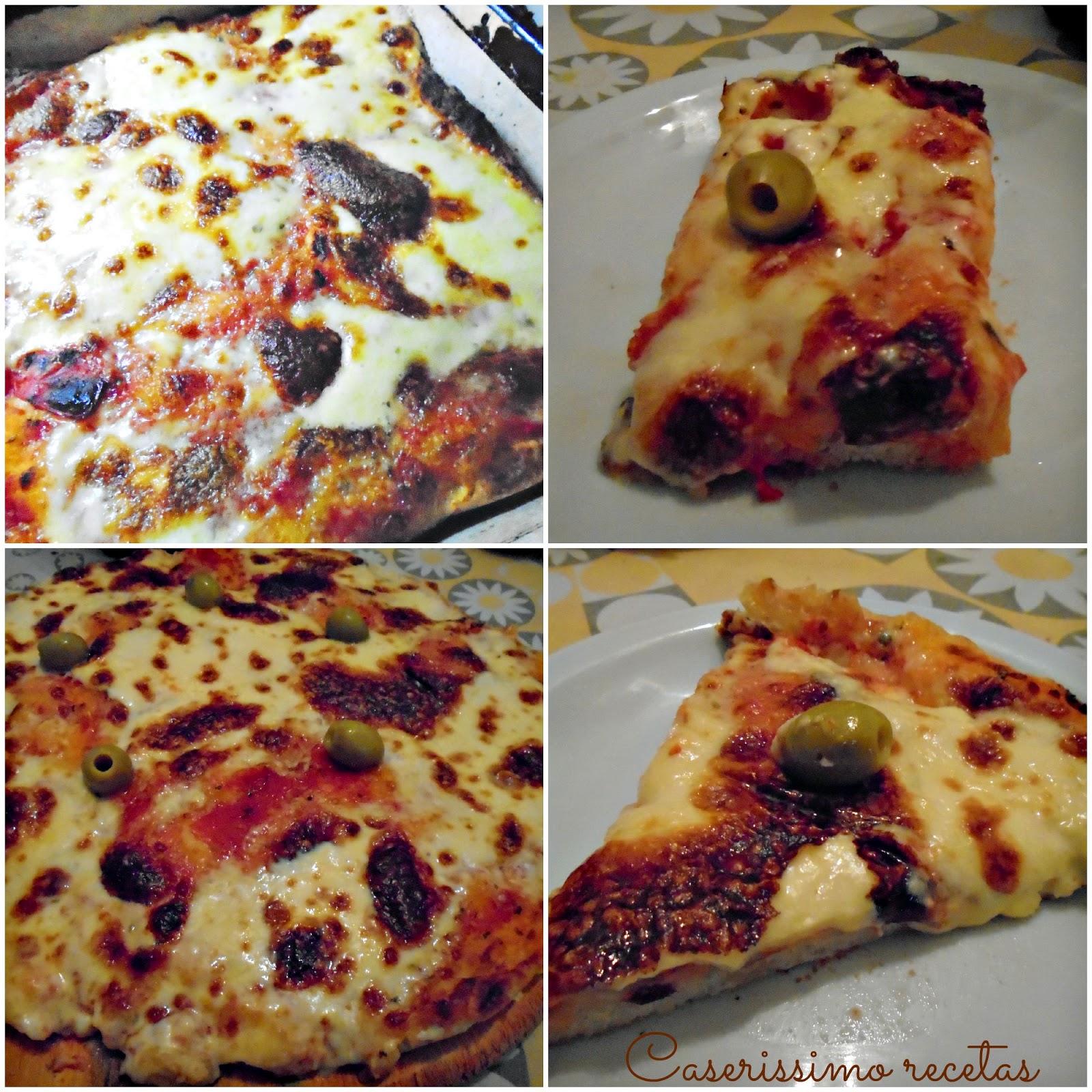 Como preparar masa para pizza casera batida