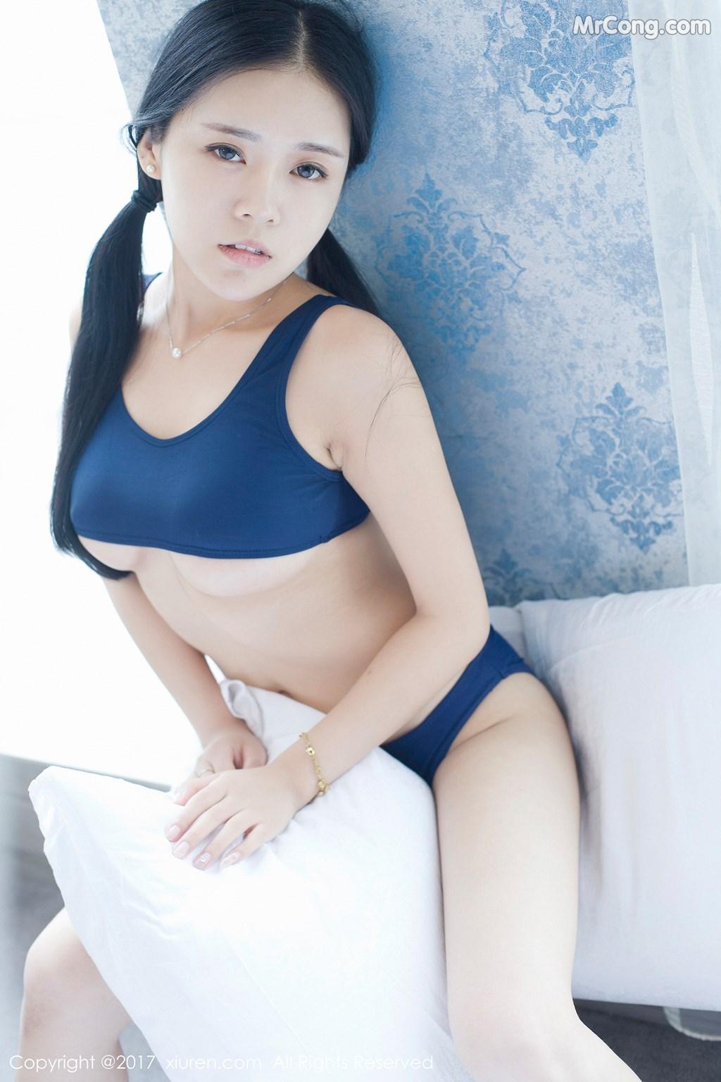 Image XIUREN-No.841-Hong-Qi-Qiu-MrCong.com-009 in post XIUREN No.841: Người mẫu Hong Qi Qiu (红气球) (50 ảnh)