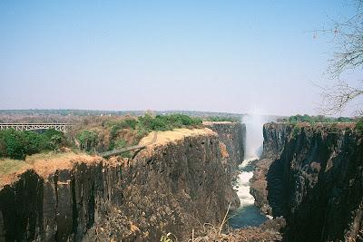 Zimbabwe, Zambia, Victoria Falls, Victoria Falls Bridge