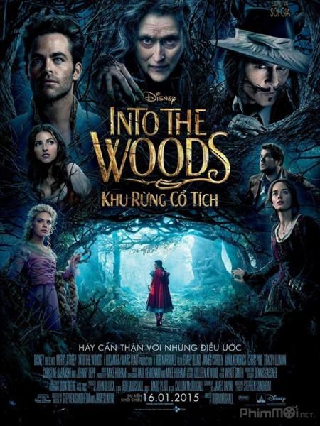 Khu rừng cổ tích - Into the Woods (2015) | Full HD VietSub