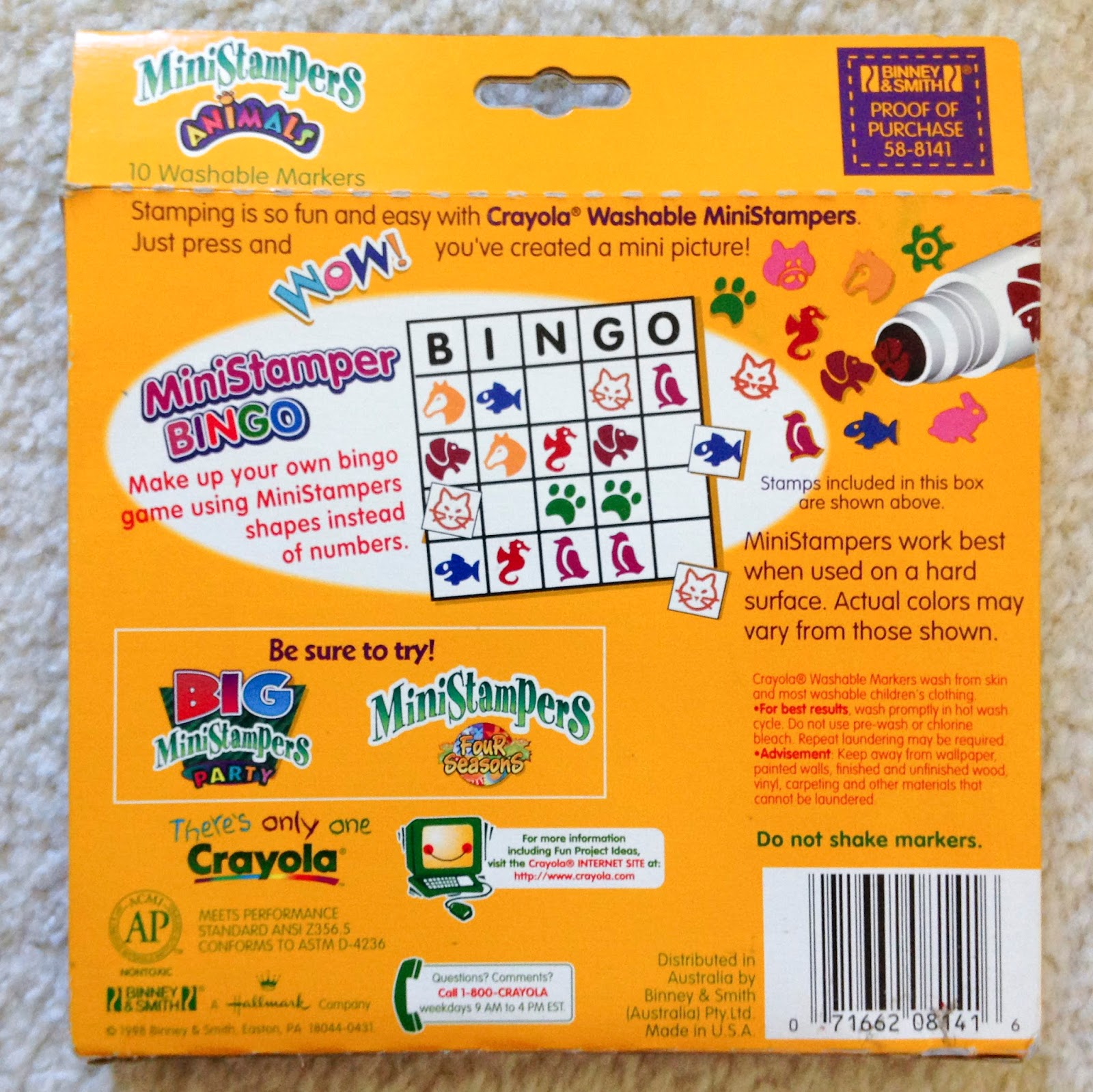 Crayola Stampers Markers: What\'s Inside the Box and History ...