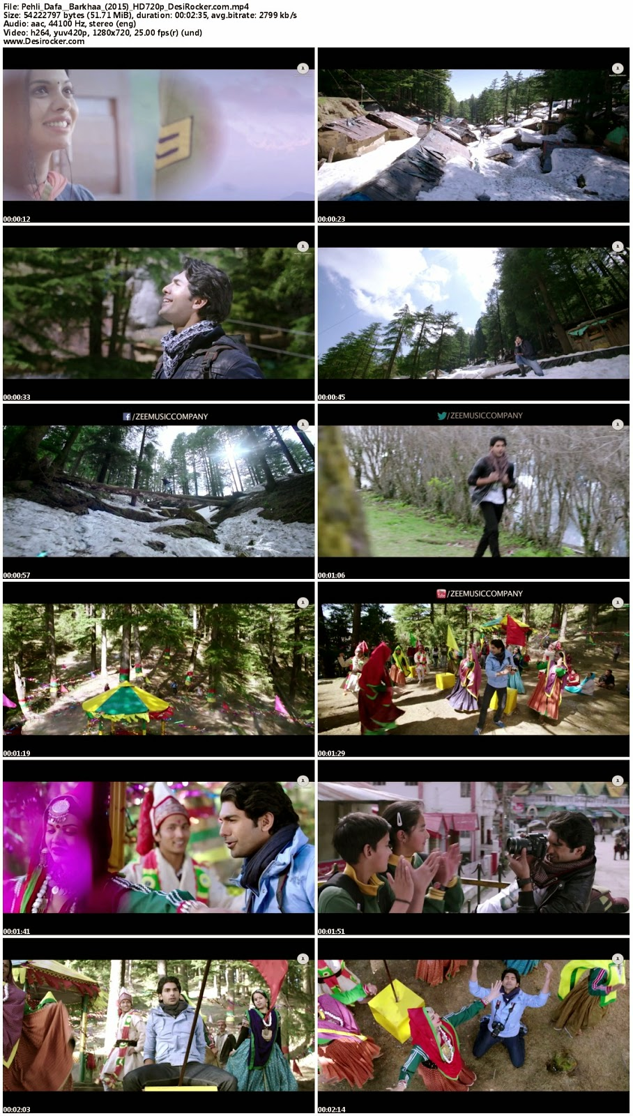 Download Pehli Dafa – Barkhaa (2015) HD 720p Full Video Song