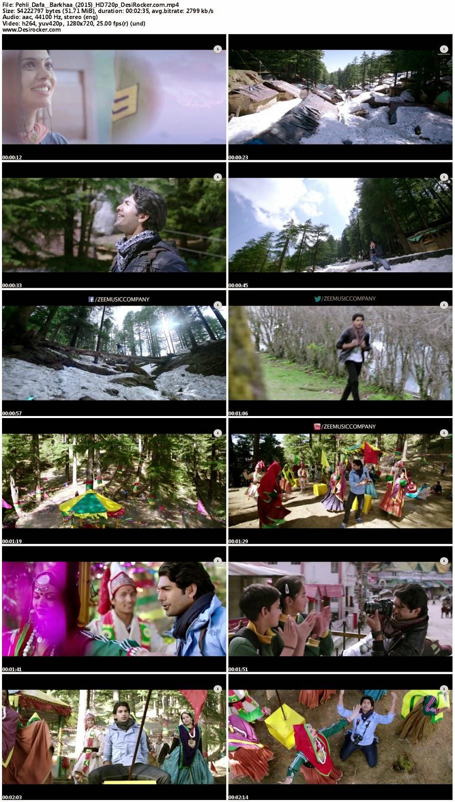 Download Pehli Dafa – Barkhaa (2015) HD 720p Full Video Song