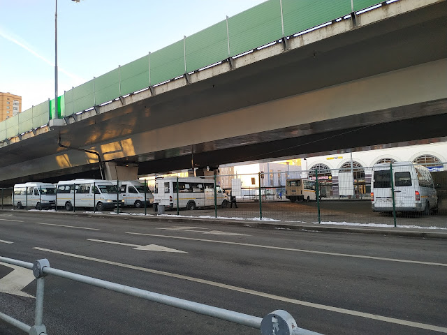 автовокзал под эстакадой