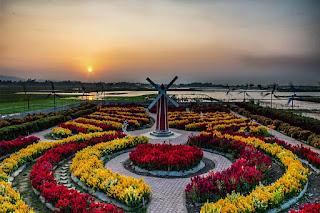 Taman Bunga Axelia: Rasakan Suasana Negeri Belanda di Kabupaten Semarang