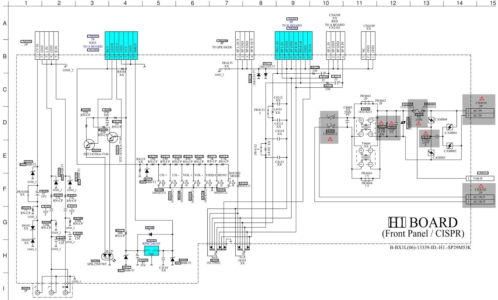 Master Electronics Repair Sony Trinitron Kv Sp29m53k
