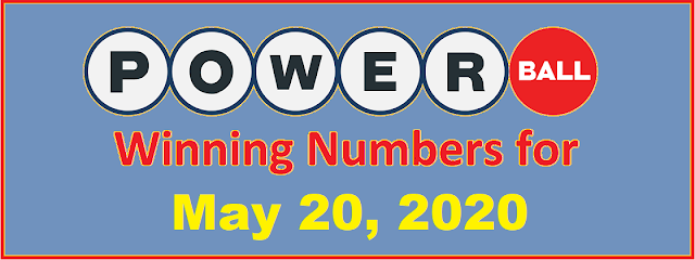 PowerBall Winning Numbers for Wednesday, May 20, 2020