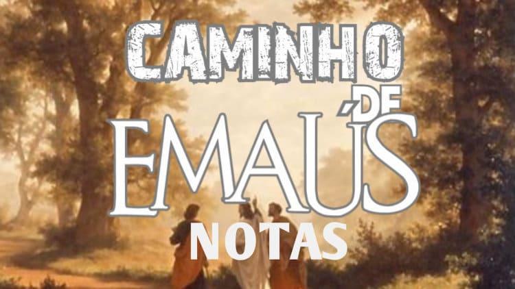 Caminho de Emaús - Eliezer Rosa - Cifra melódica