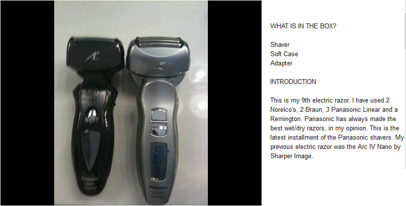 how to use a shaver