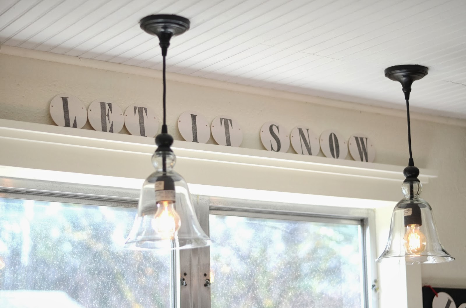 kitchen sink pendant light kingston brass faucets iron and twine our almost finished makeover