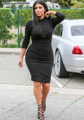 Morphologie 8 Kim Kardashian
