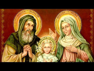 Saints Joachim and Ann, parents of the Blessed Virgin Mary