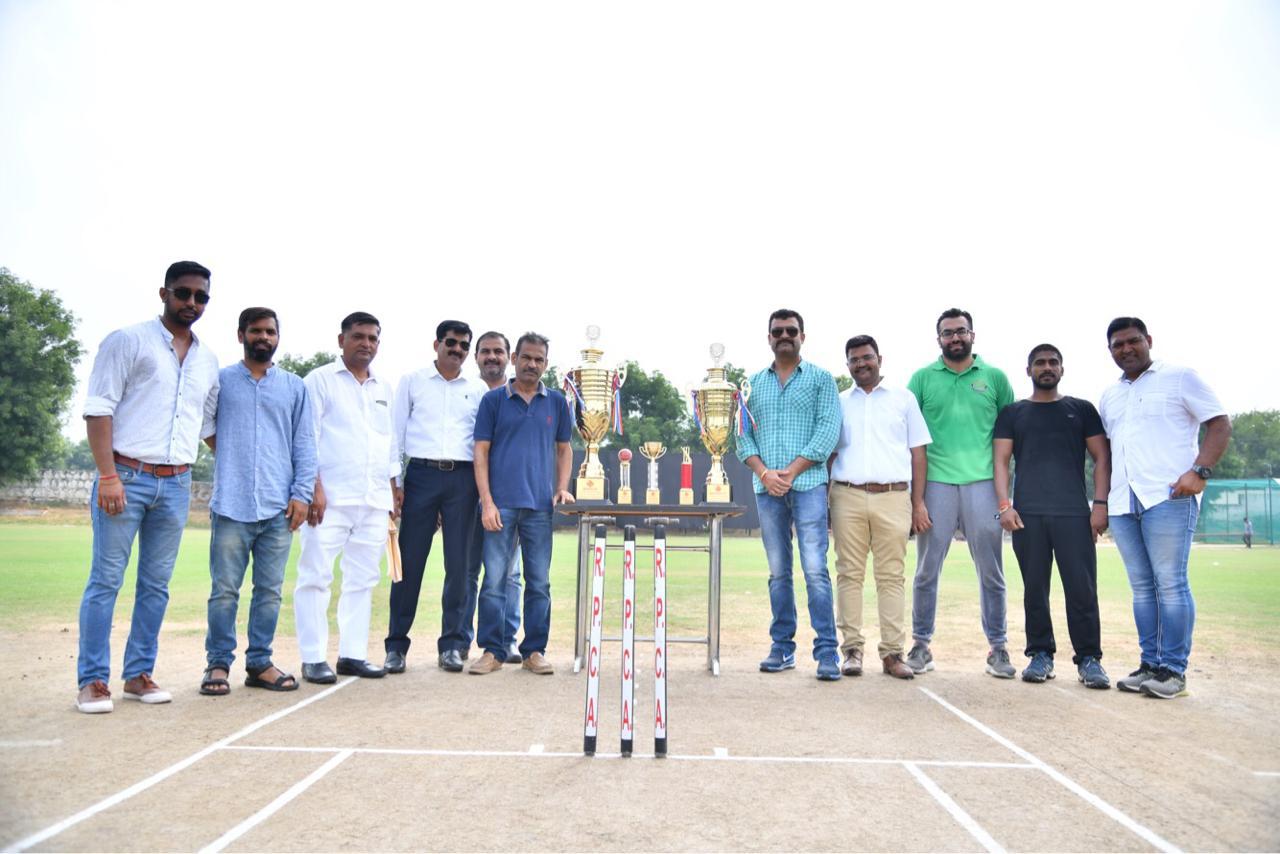 सातवां ऑल इंडिया रविंद्र फागना टी-20 क्रिकेट टूर्नामेंट का फाइनल मैच हरिसिंह क्रिकेट अकादमी ने जीता