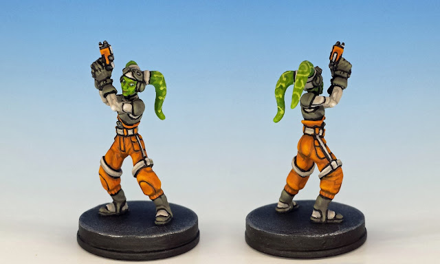 Hera Syndulla, Imperial Assault (2017), painted miniature