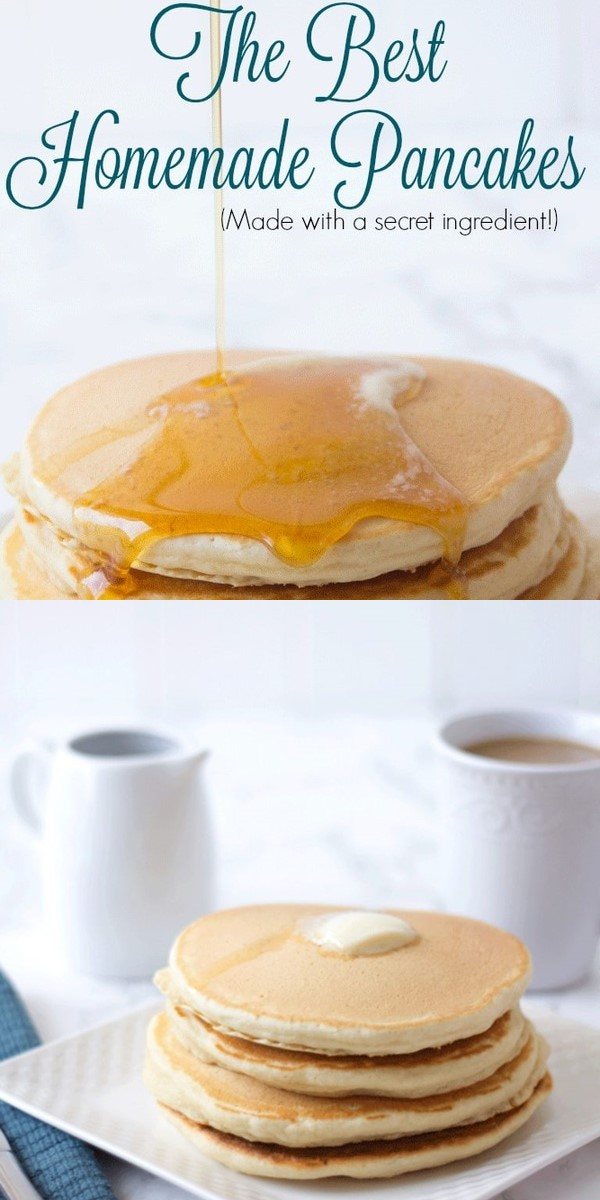 Homemade Pancake Mix #breakfastideas