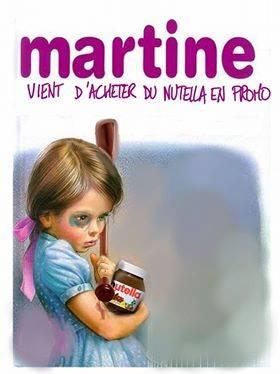 Le Grenier Du Faucon Martine Mange Du Nutella Betise