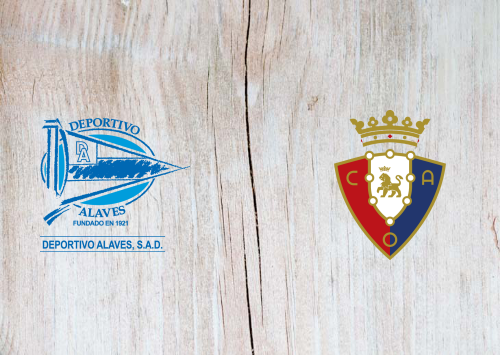 Deportivo Alavés vs Osasuna -Highlights 24 June 2020