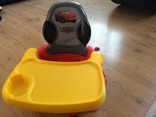 Disney Cars Booster Seat