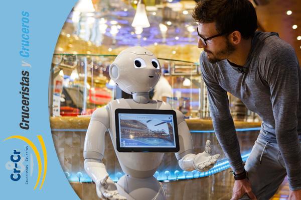► Cinco robots Pepper se incorporan al Costa Diadema