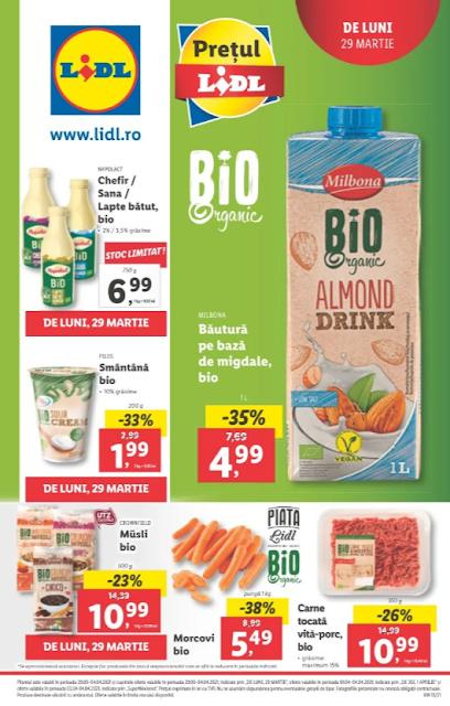 LIDL Catalog - Brosura 29.03 - 04.04 2021