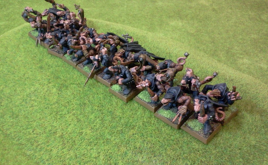 The Chattering Horde How To Paint Skaven Night Runners