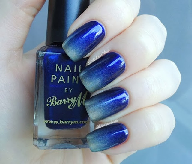 Blue and gold gradient