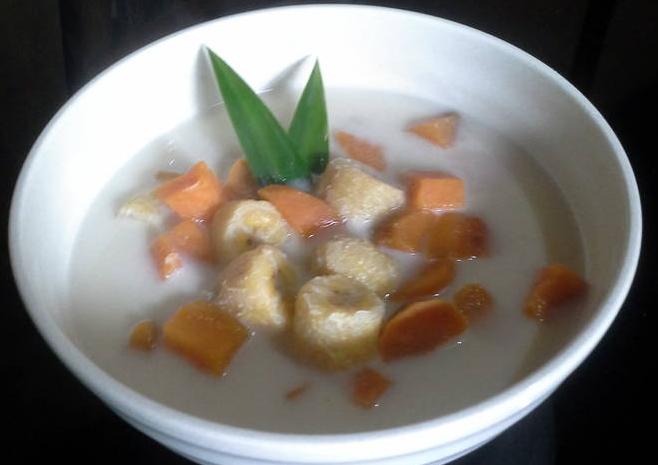 Resep kolak pisang ubi, resep makanan