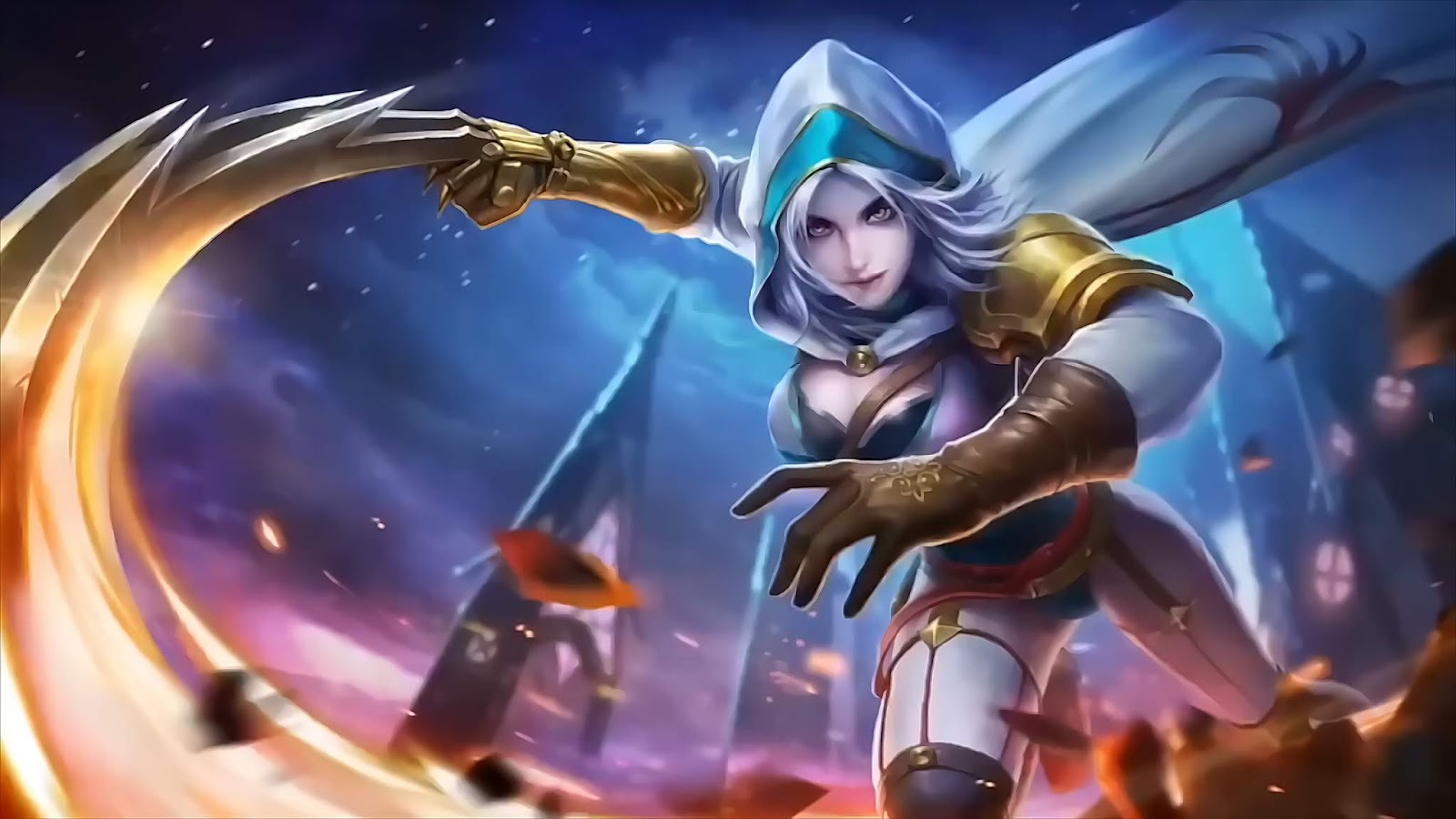 Wallpaper Natalia Mobile Legends Bright Claw Old Full HD for PC