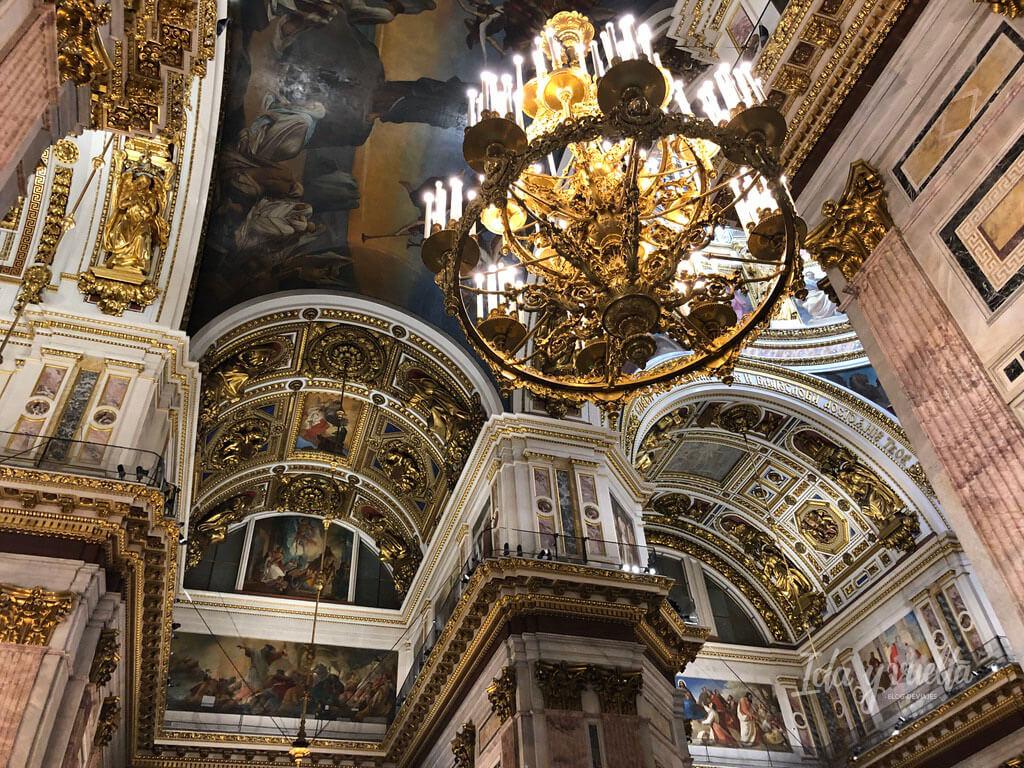 Catedral San Isaac San Petersburgo interior