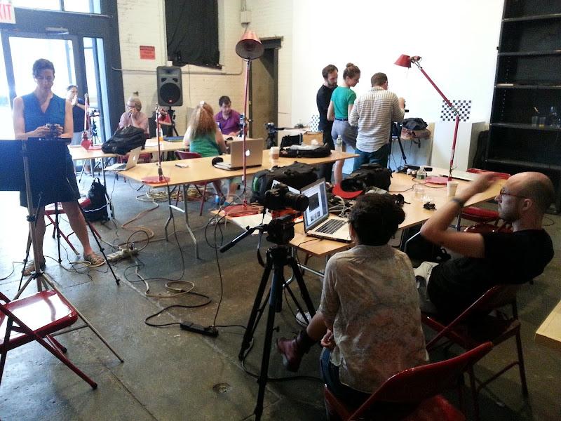 RGBDToolkit workshop at Eyebeam