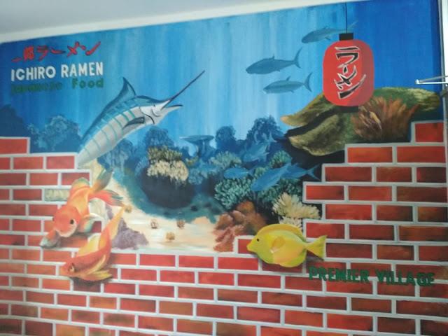 Lukisan Mural Restoran
