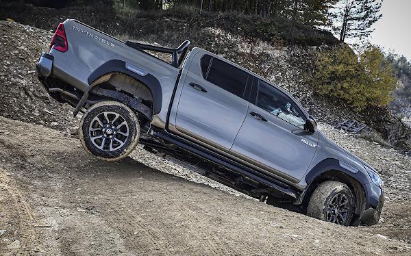 Toyota Hilux 2021 com facelift e 204 cv: lançamento no Brasi em novembro