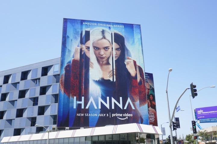 Giant Hanna season 2 billboard