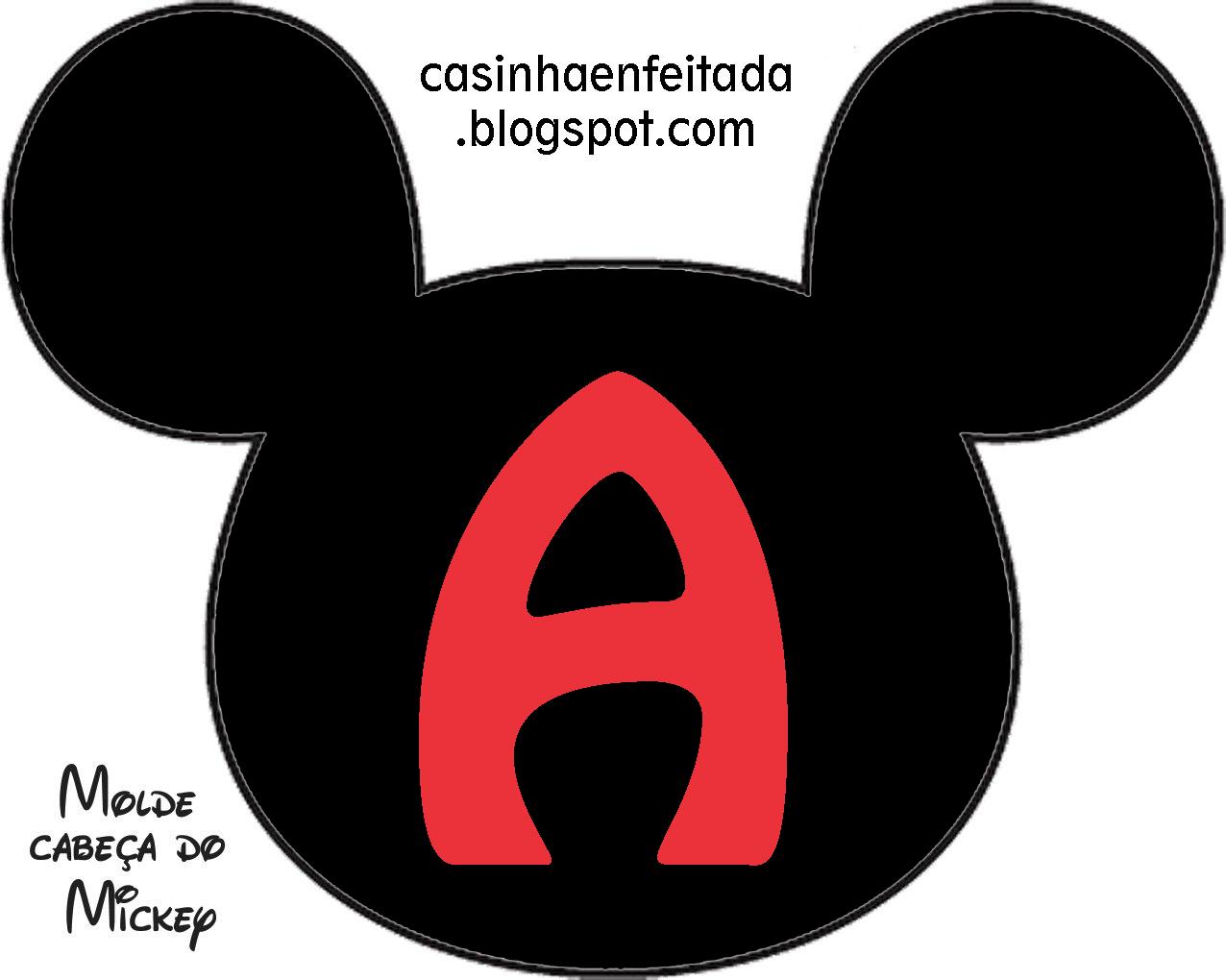 Casinha De Crianca Kit Festa Do Mickey Para Imprimir Gratis
