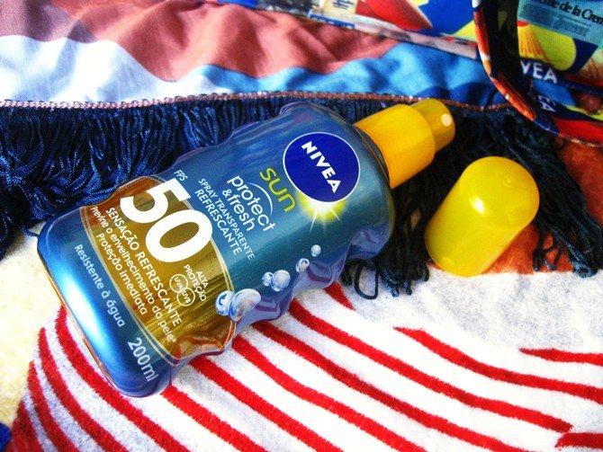 Nivea Sun Protect Fresh