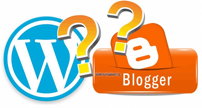 Web Master Dünyası : Blogger Mı WordPress Mi ?