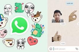 Cara Downdaload dan Mengirim Stiker WhatsApp 2