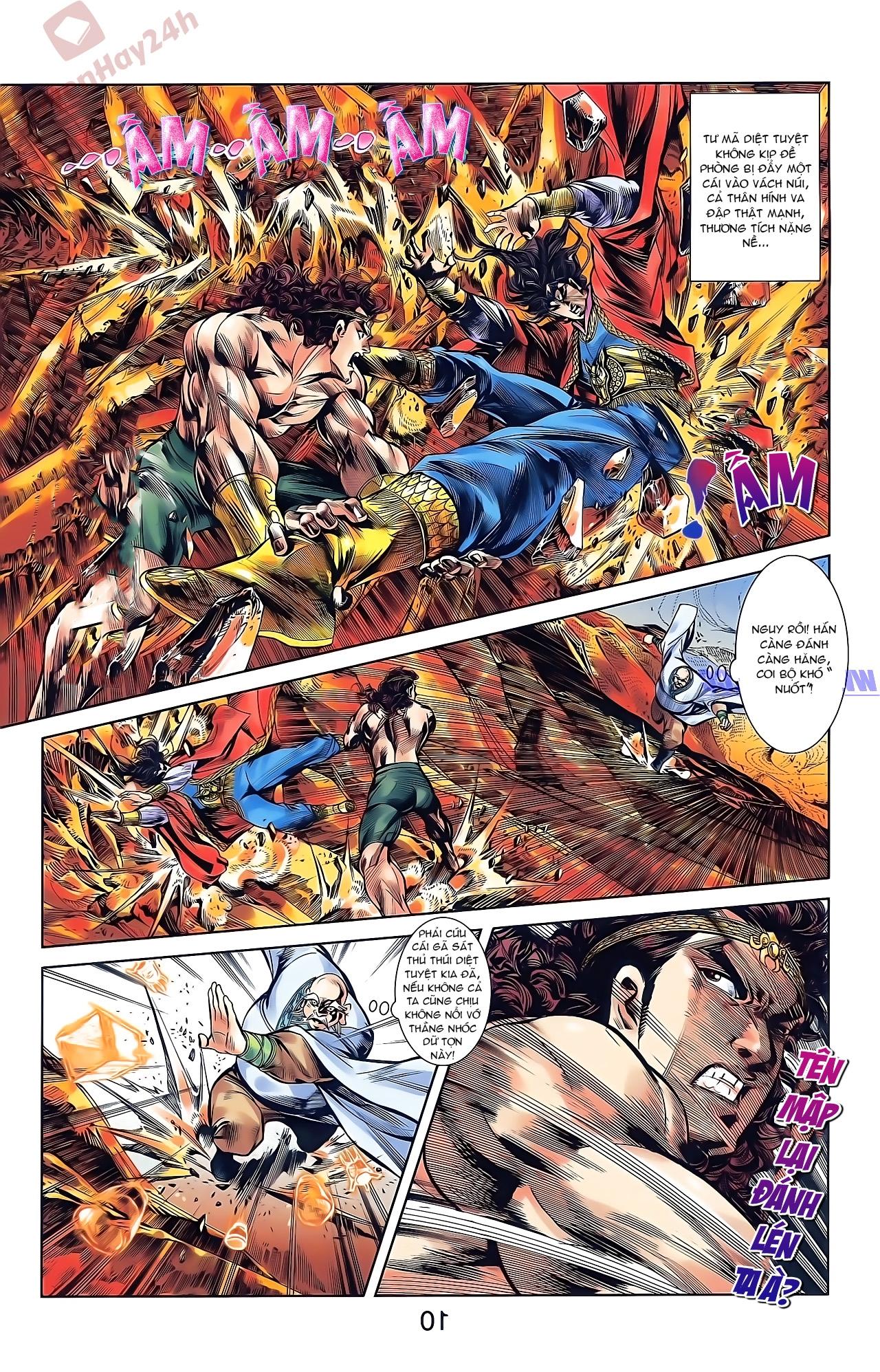 Tần Vương Doanh Chính chapter 45 trang 8
