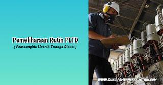 Pemeliharaan Rutin PLTD (Pembangkit Listrik Tenaga Diesel)