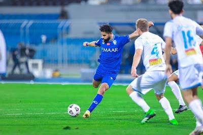 ملخص اهداف مباراة الهلال والباطن (1-1) الدوري السعودي