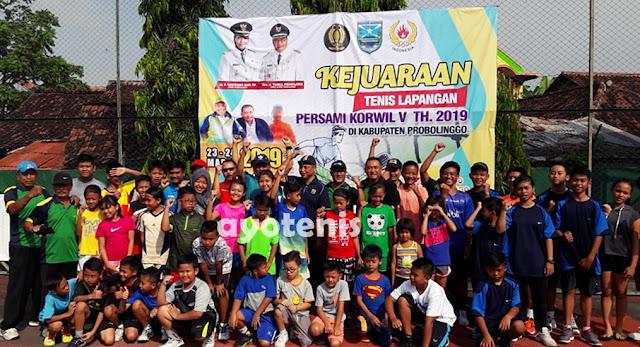 Pengprov PELTI Jawa Timur Gelar Kejuaraan Tenis Yunior PERSAMI